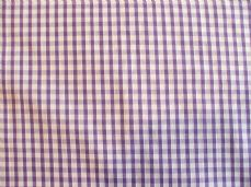 "1/8"" Gingham Quality Polycotton Fabric in Lilac"